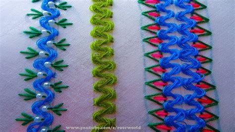 decorative stitches hand embroidery part  border
