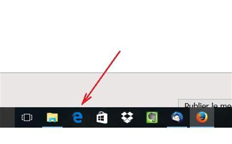 afficher icone bureau afficher l 39 icône edge sur le bureau
