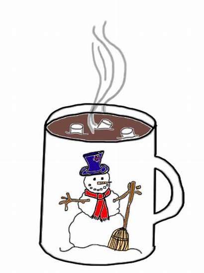 Chocolate Clip Clipart Winter Break Cocoa Marshmallow