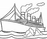Iceberg Clipart Titanic Hit Clipartmag sketch template