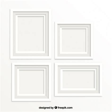 cornici bianche per quadri cornici bianche scaricare vettori premium
