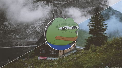 Pepe Meme Picture In Picture Frog Trees 3840x2160