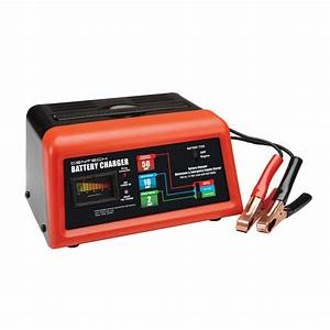 10  2  50 Amp 12v Manual Charger With Engine Start