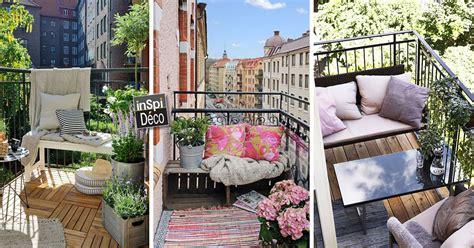 amenager  petit balcon avec style voici  idees
