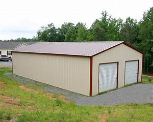 Mccarte pole barn kit prices nc for Aluminum shed prices