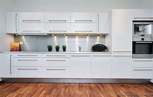 Modern White Kitchen - The Interior Designs