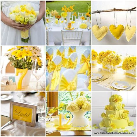16 best yellow event decor images on yellow yellow weddings and color scheme wedding