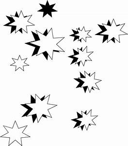 Stars | Free Stock Photo | Illustration of black and white ...