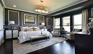 27 jaw dropping black bedrooms design ideas designing idea for Rooms with black floors