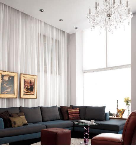 wall of drapery interior design mpression