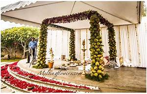 Mandap Decorations Wedding Mandap Mandap Flower