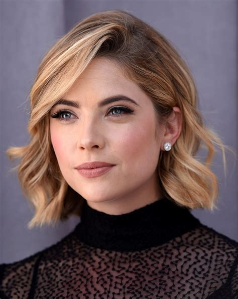 Members get access to my long hair videos and photos! More Pics of Ashley Benson Short Wavy Cut (1 of 5) - Short Hairstyles Lookbook - StyleBistro