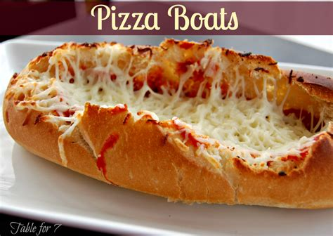Pizza Boat by Pizza Boats Recipe Discover More Ideas About Pizza