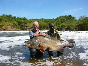 Fishing for Nile Perch at Murchison Falls Uganda ...