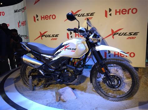 hero xpulse  unveiled borrows cc engine  xtreme