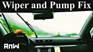 Windshield Washer Pump And System Diagnosis