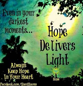 Quotes About Hope And Light. QuotesGram