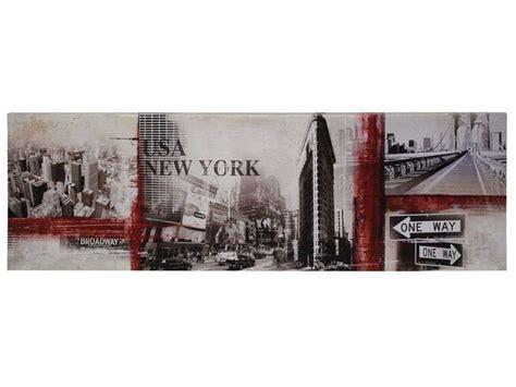cadre new york conforama toile 140x45 cm ny conforama pickture