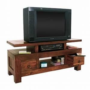 Meuble Tv Ethnique : meuble tv ethnique meuble de salon contemporain ~ Teatrodelosmanantiales.com Idées de Décoration