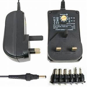 Universal Ac  Dc Power Supply Adaptor Plug Charger Adaptor