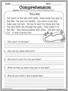 question  short answer long vowel  digraph