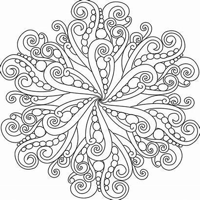 Mandala Coloring Pages Unique Practice Flower Complex
