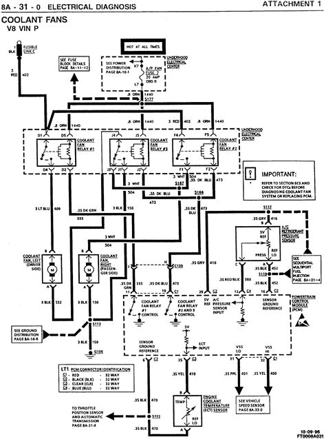 98 Camaro Engine Wiring Diagram by 97 Z28 Camaro Cooling Fans Won T Come On I Jump Them So I