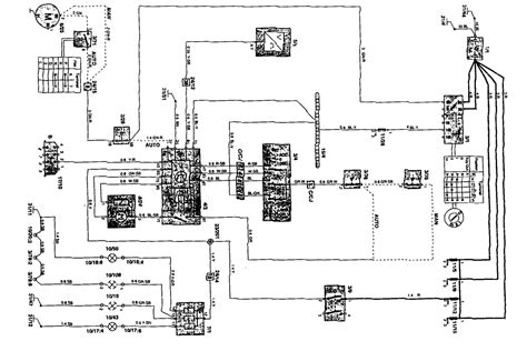volvo 850 1995 wiring diagrams speed controls