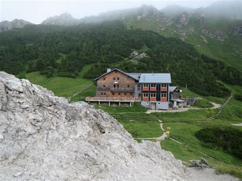 Carl Von Stahl Haus  Wanderung Berchtesgadener Alpen