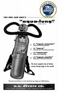Scuba Diving  1943  Jaques Cousteau Created The First