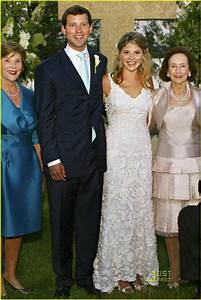 jenna bush wedding photos chet hondo With jenna bush wedding dress