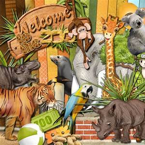 "Digital kit ""Welcome to the Zoo"" CDIP Boutique"