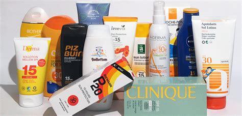 test zonnebrandcreme consumentenbond