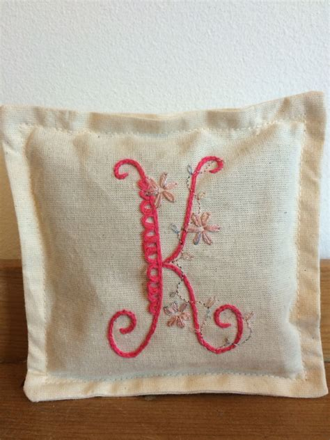monogrammed embroidery lavender bag  lavender bags burlap bag bags