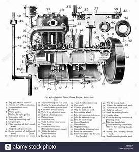 Car Engine Diagram High Resolution Stock Photography And