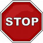 Stop Sign Transparent Icon Clip Clipart Printable
