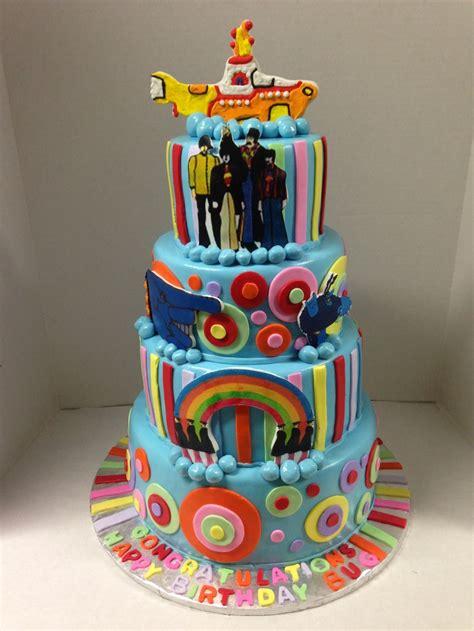 Beatles Themed Cake My Custom Cakes