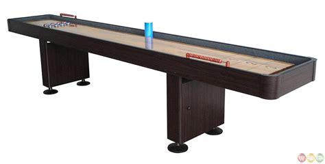 12 ft shuffleboard table shuffleboard 12 foot dark cherry finish game table