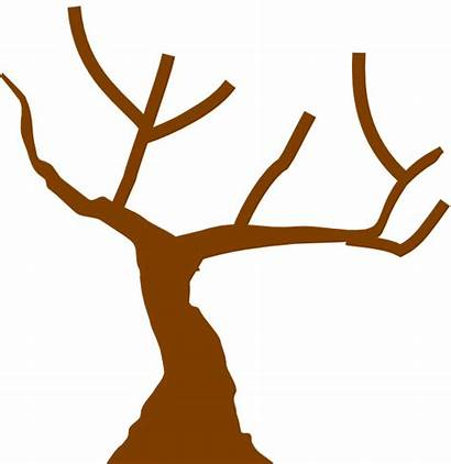 Clipart Tree Brown Trunk Cliparts Clip Library