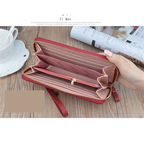 koleksi dompet wanita high quality fashion leather purse