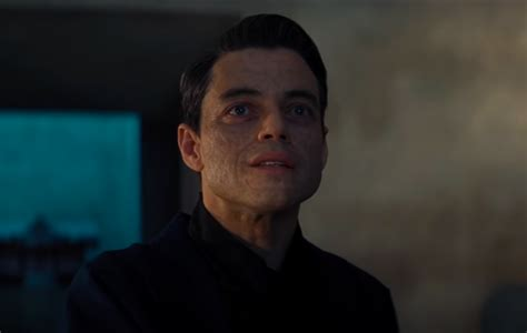 'No Time To Die': Watch Rami Malek talk about his ...