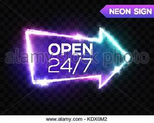 Open 24 7 Hours Night Club Neon Sign 3d Retro Light Bar