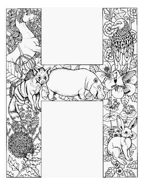 alphabet animal coloring pages  projects