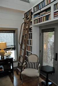 The Rolling Ladder Gallery, Bookcase Ladder Kit - Noir Vilaine