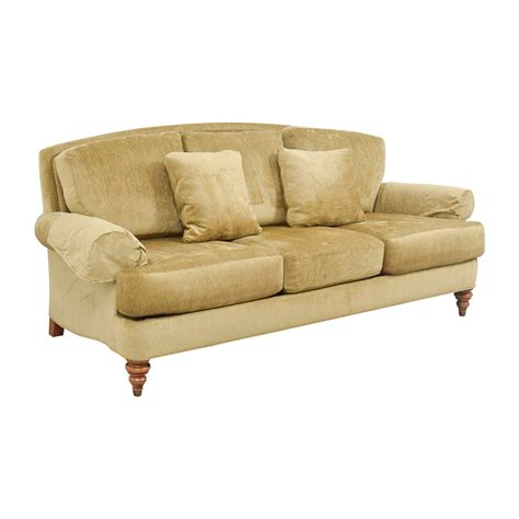 ethan allen sofas on sale 78 off ethan allen ethan allen hyde gold three cushion