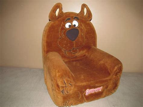 scooby doo child size foam arm plush chair scooby doo