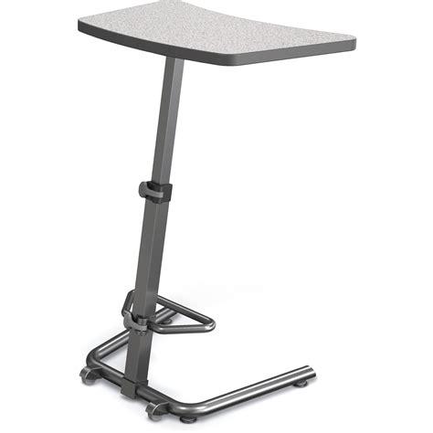 balt up rite workstation sit stand desk balt up rite height adjustable sit stand student 90532 4622 bk