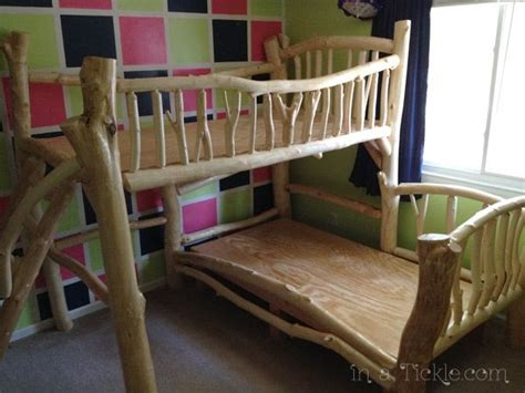 awesome homemade tree house bunk beds i almost put this under things for the home but it s just