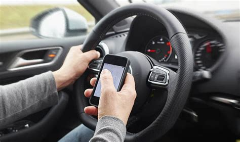 phone  driving  land   fine  increase