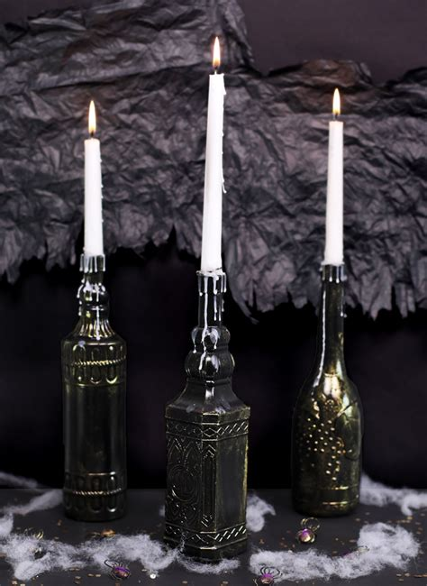 dollar store halloween candle holders thecraftpatchblogcom
